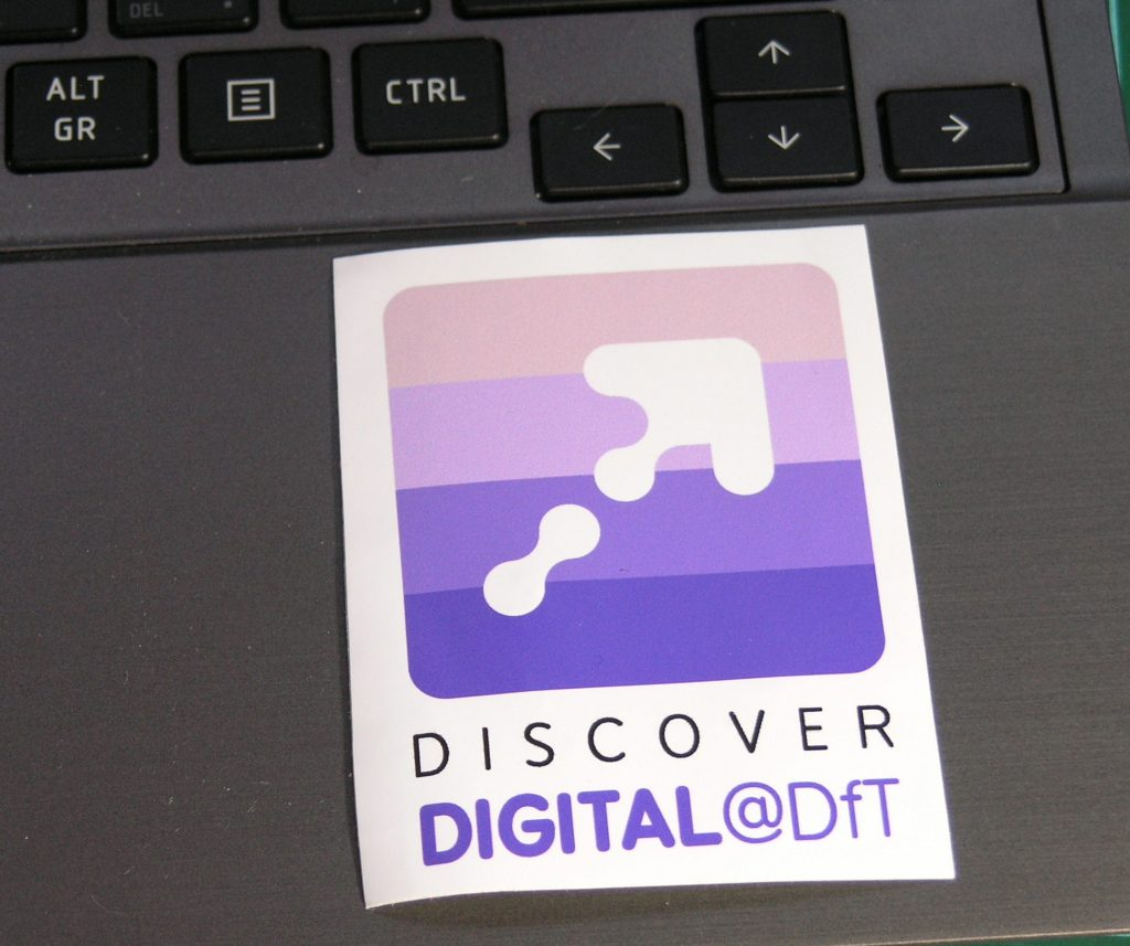 Discover Digital at DfT logo